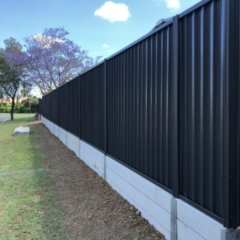 Concrete Sleepers Brisbane Retaining Wall Installation