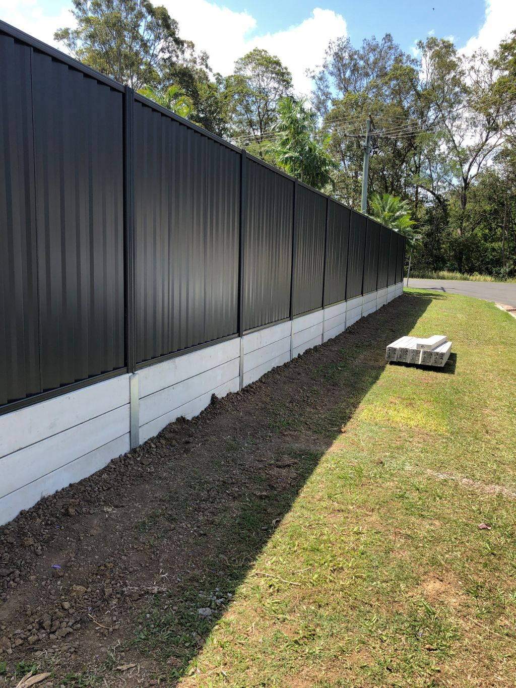 Concrete Sleepers Brisbane The Smarter Choice Northside Fencing
