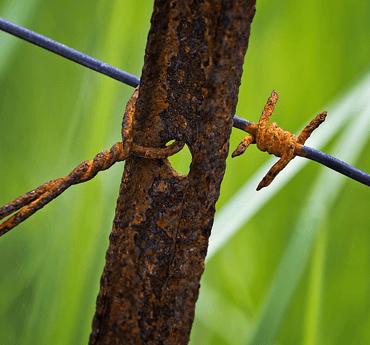 storm season fence inspection