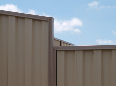 colorbond chainwire fence