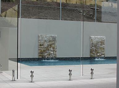 frameless glass fence brisbane