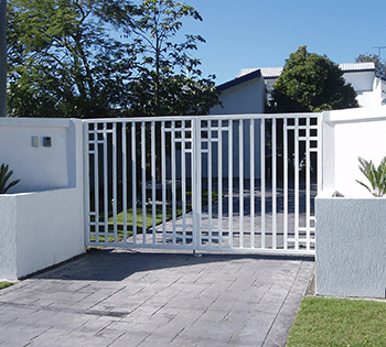 the right gate